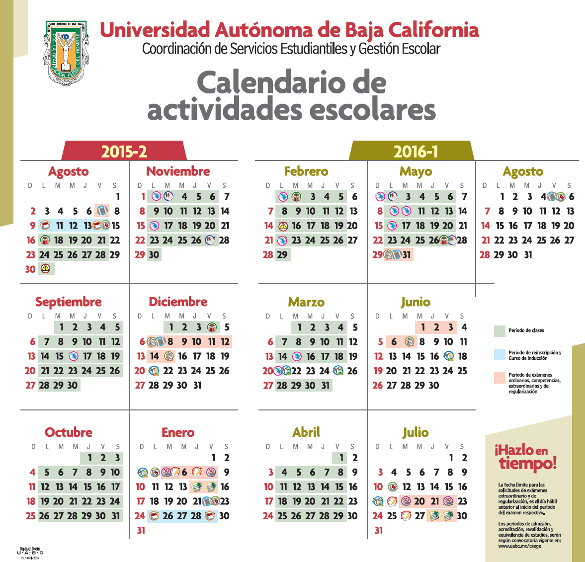 Calendario Febrero 2016 El Calendario Febrero Para | apexwallpapers ...